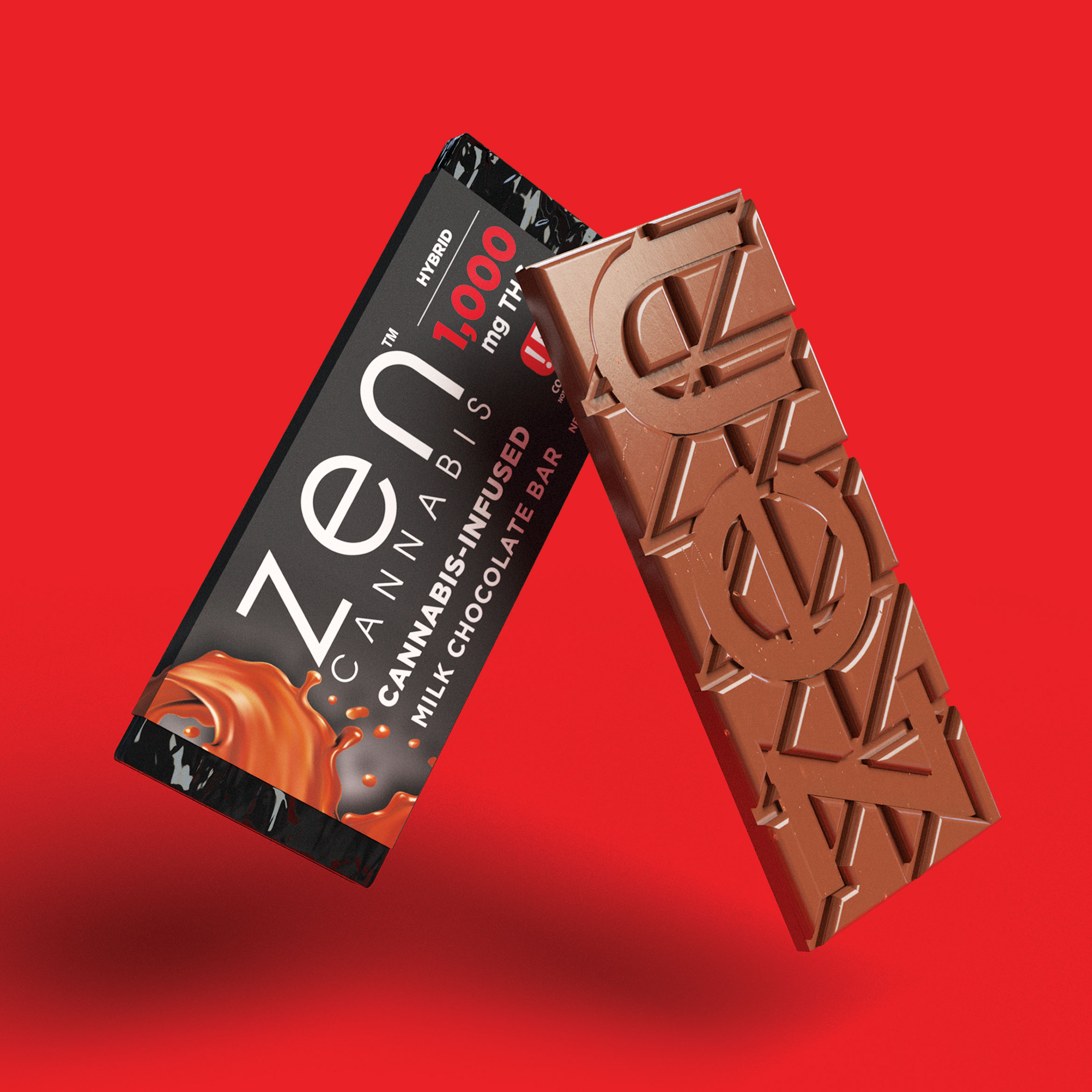 MILK CHOCOLATE - HYBRID A classically sweet and creamy milk chocolate bar that will melt your worries away while it melts in your mouth. 1.55oz (43g)